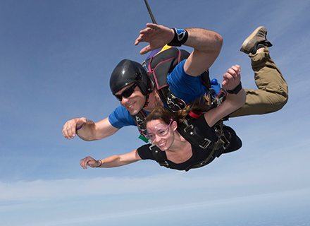 skydiving in Virginia Beach