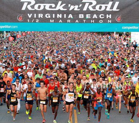Virginia Beach Events Rock N Roll Marathon
