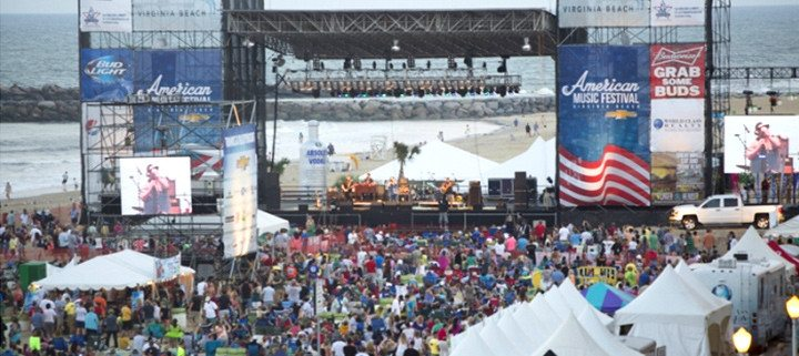 Virginia Beach Events - American Music Festival - Virginia Beach Hotel Special