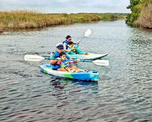 VA Beach Boat Tours - Kayaking