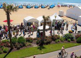 Virginia Beach Hotels - Oceanfront Virginia Beach Events - MOCA Boardwalk Art Show