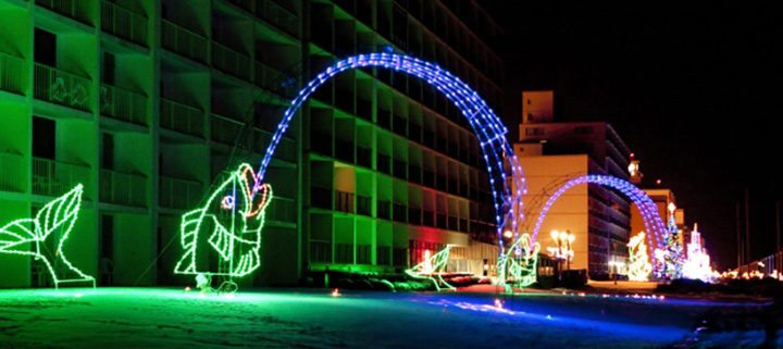 Virginia Beach Events - McDonalds Holiday Lights at the Beach