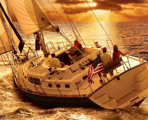 VA Beach Boat Tours - Sailing