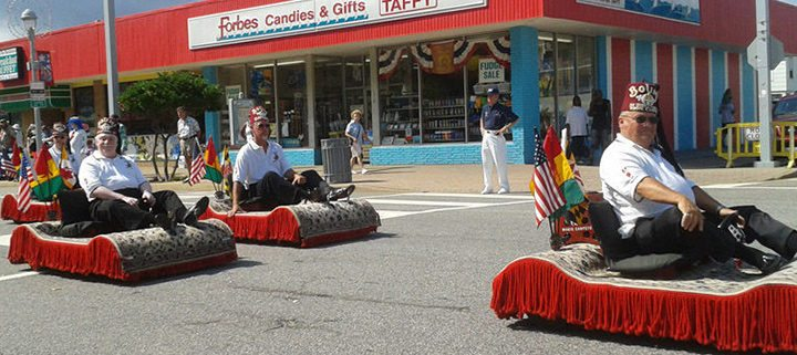 MASA Shriners Hospital for Children Va Beach parade