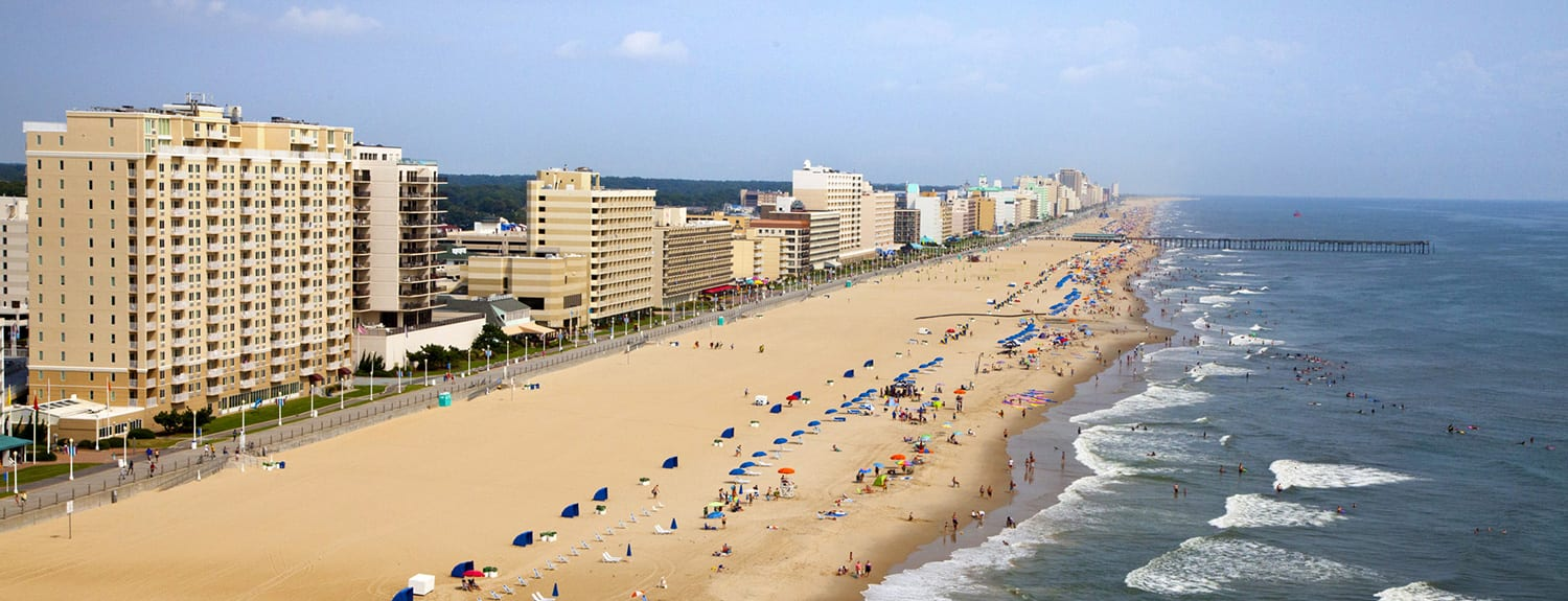 Virginia Beach Hotels - oceanfront - Virginia Beach Boardwalk