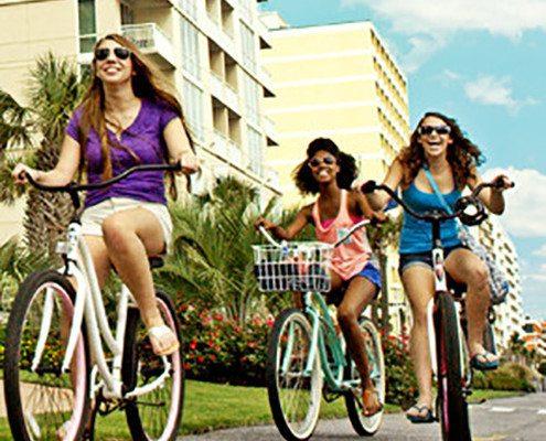 Bike Rentals on the Boardwalk