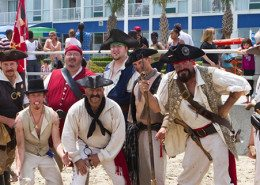 Virginia Beach Hotels - Oceanfront Specials | Virginia Beach Events - Pirate Party on the Beach