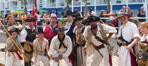 Virginia Beach Hotels - Oceanfront - Virginia Beach Events - Pirate Party on the Beach