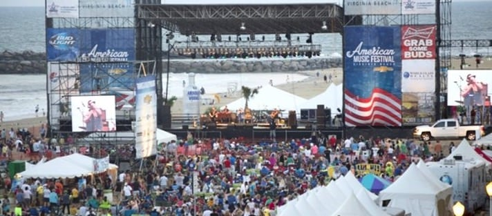 Virginia Beach Hotels Oceanfront Hotel Specials In American Music Festival Rock