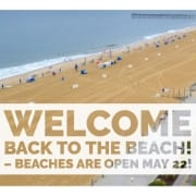tate of Virginia has officially opened up Virginia Beach beaches on May 22