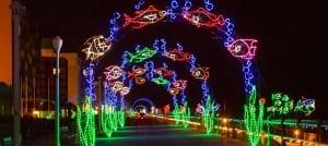 Virginia Beach events - holiday lights at the beach