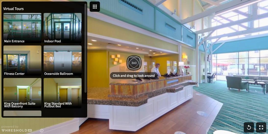 Holiday Inn Virginia Beach Oceanside - Virtual Tour