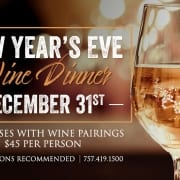 New Year's Eve Wine Dinner