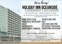 Virginia Beach Jobs - Summer jobs, full tim e, part time