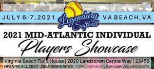 Legendary Softball Mid-Atlantic Players Showcase
