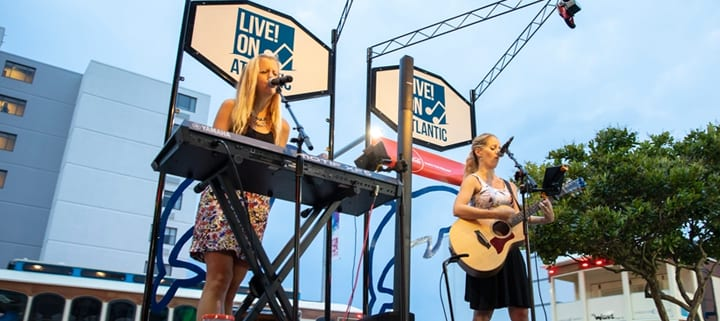 Live on Atlantic Virginia Beach entertainment